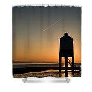 Vapour Trail Shower Curtain