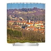 Varazdinske Toplice - Thermal Springs Town Shower Curtain