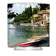 Varenna.lake Como Shower Curtain