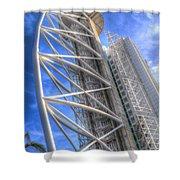 Vasco Da Gama Tower II Shower Curtain