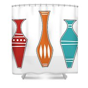 Vases Shower Curtain