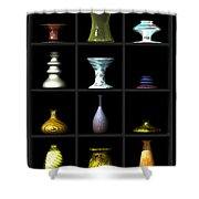 Vases... Shower Curtain