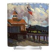Vashon Island 4th Of July Shower Curtain