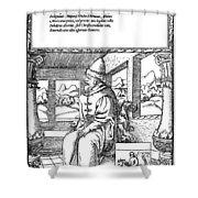 Vasily IIi Ivanovich (1479-1533) Shower Curtain
