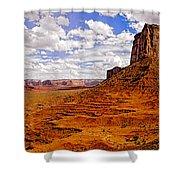 Vast Desert - Monument Valley - Arizona Shower Curtain