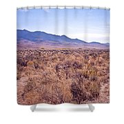 Vast Desolate And Silent - Lyon Nevada Shower Curtain