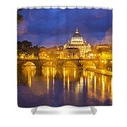 Vatican Shower Curtain