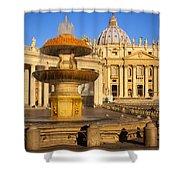 Vatican Morning Shower Curtain