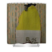 Vatican Witch 2 Shower Curtain