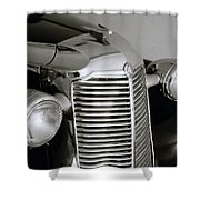 Vauxhall Vintage Shower Curtain