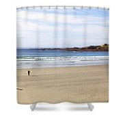 Vazon Bay - Guernsey Shower Curtain