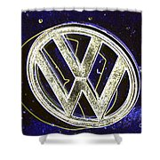 Vdub 2 Shower Curtain