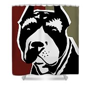 Vector Pit  Shower Curtain