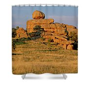 Vedauwoo Rocks Sunset Wyoming Shower Curtain