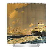 Veendam Shower Curtain