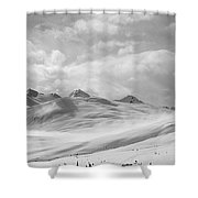 Veil Of Clouds Shower Curtain