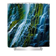 Veiled Wall Shower Curtain