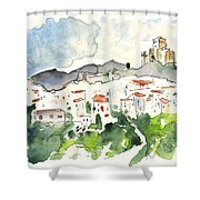 Velez Blanco 04 Shower Curtain