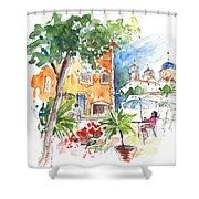 Velez Rubio Townscape 03 Shower Curtain