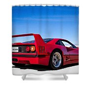 Veloce Equals Speed Shower Curtain