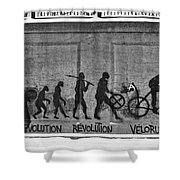 Velorution Shower Curtain
