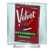 Velvet Shower Curtain