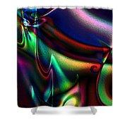 Velvet Splash Shower Curtain
