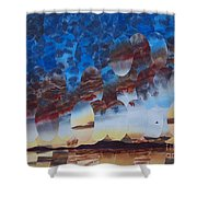 Velvet Virga Shower Curtain
