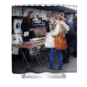 Vendor La Rue St. Michel Shower Curtain