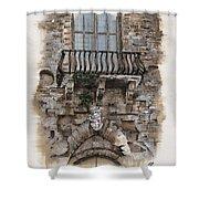 Venetian Balcony 02 Elena Yakubovich Shower Curtain