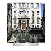 Venetian Canal Shower Curtain