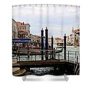 Venetian Days  Shower Curtain