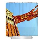 Venetian Freedom Shower Curtain