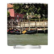 Venetian Gondolas Shower Curtain