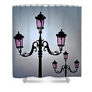 Venetian Lamps Shower Curtain