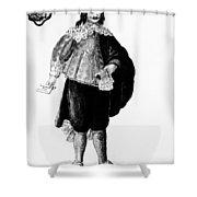 Venetian Man, 18th Century Shower Curtain