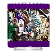 Venetian Masks 1 Shower Curtain