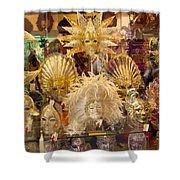 Venetian Masks 2 Shower Curtain