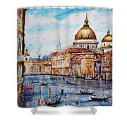 Venetian Paradise Shower Curtain