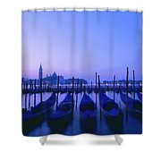 Venetian Sunrise Shower Curtain