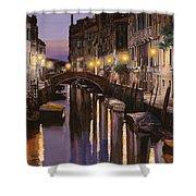 Venezia Al Crepuscolo Shower Curtain