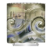 Venezia Bella Shower Curtain