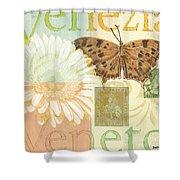 Venezia Shower Curtain by Debbie DeWitt