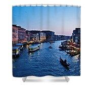Venezia - Il Gran Canale Shower Curtain