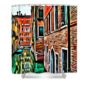 Venezia Mi Amor Shower Curtain