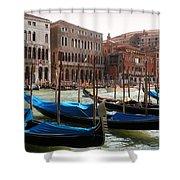 Veneziano Trasporto Shower Curtain
