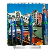 Venice - Rialto Shower Curtain