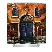 Venice 002 Shower Curtain