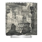 Venice. A View From The Other Bridge Shower Curtain