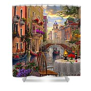Venice Al Fresco Shower Curtain